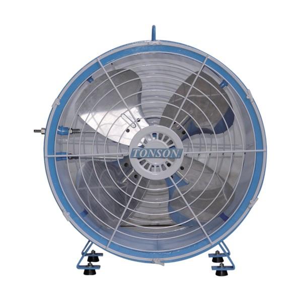 エアモーター式軸流型送風機(アルミハネ45cm)