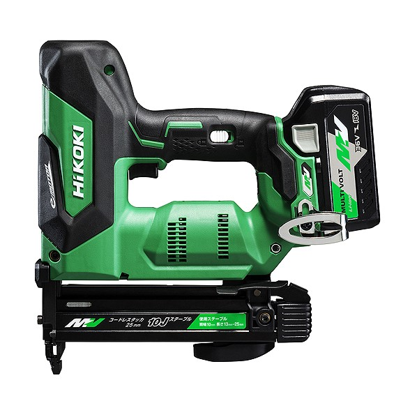 HiKOKI(ハイコーキ) 【期間限定 バッテリー+1】コードレスタッカ 36Vマルチボルト (バッテリー・充電器セット) N3610DJ(XP) 1台