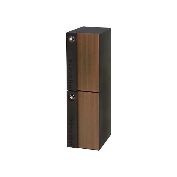 【送料無料】ヤマソロ 宅配ボックス ブラック 幅23×奥行33.5×高さ88cm 73-070