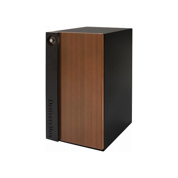 【送料無料】ヤマソロ 宅配ボックス ブラック 幅32×奥行44.5×高さ62cm 73-847