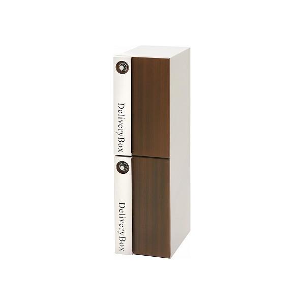 【送料無料】ヤマソロ 宅配ボックス ホワイト 幅23×奥行33.5×高さ88cm 73-071