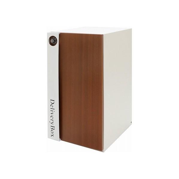 【送料無料】ヤマソロ 宅配ボックス ホワイト 幅32×奥行44.5×高さ62cm 73-848