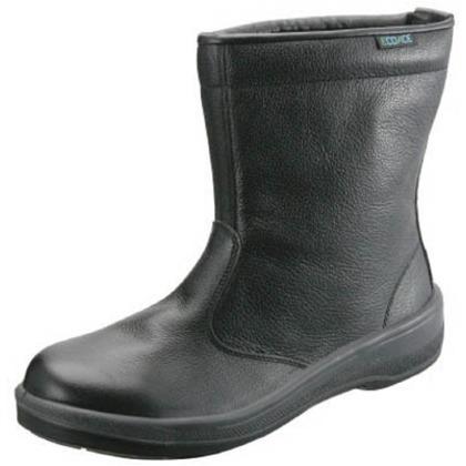 【送料無料】シモン 安全靴半長靴ECO44黒28.0cm ECO44-28.0