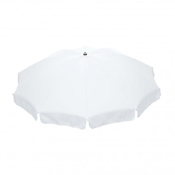 【送料無料】テラモト ガーデンパラソル NSP-10 ホワイト 全長:2200mm 直径:1890mm MZ-596-001-8