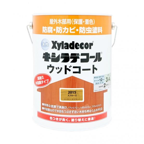 【送料無料】大阪ガスケミカル OGCXDウッドコートS#2015缶 3.4L