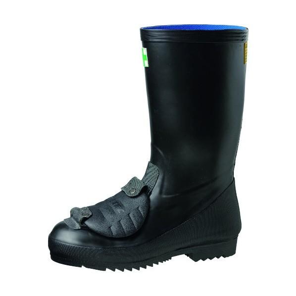 【送料無料】ミドリ安全 甲プロ固定式 JIS安全長靴 966甲プロM2 ブラック 25.5cm 966KPM2-25.5