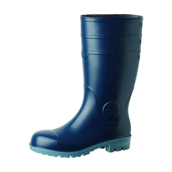 【送料無料】ミドリ安全 静電安全長靴 ダークブルー 24.5cm NW1000S-BL-24.5