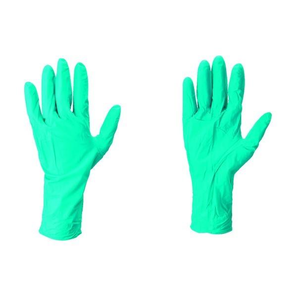 【送料無料】アンセル・ヘルスケア・ジャパン ニトリルゴム使い捨て手袋タッチエヌタフ グリーン 92-605-9