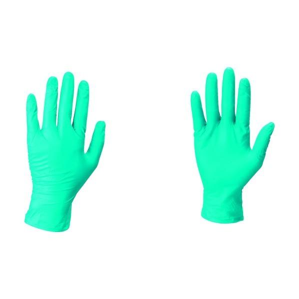 【送料無料】アンセル・ヘルスケア・ジャパン ニトリルゴム使い捨て手袋マイクロフレックス グリーン 93-850-7
