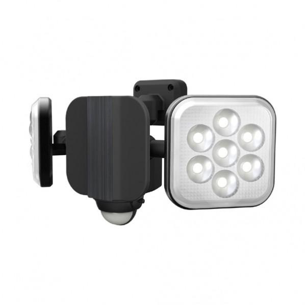 【送料無料】ムサシ 8W×2灯フリーアームLEDセンサーライト 232 x 151 x 133 mm LED-AC2016