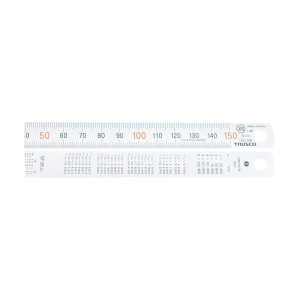 【送料無料】トラスコ(TRUSCO) 直尺1.5m 1570 x 55 x 3 mm TSU-150N