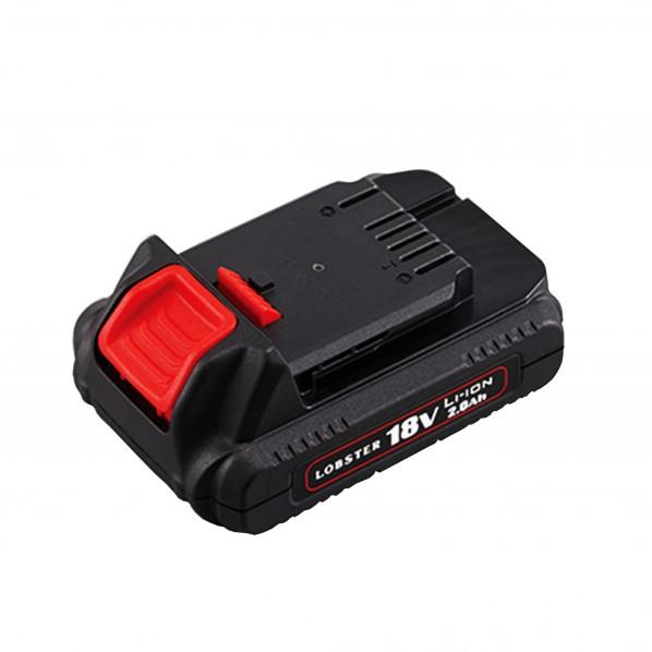 【送料無料】ロブテックス コードレスリベッターR2B1 電池パック 黒 W76×D116×H49mm BPL1820