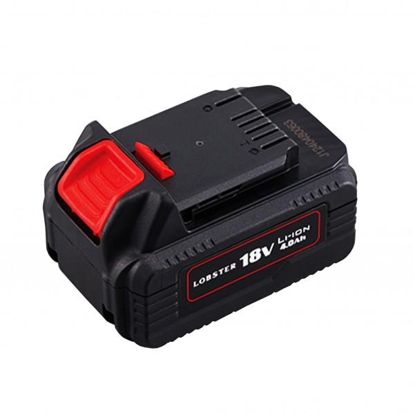 【送料無料】ロブテックス コードレスリベッターR2B1 電池パック 黒 W76×D116×H68mm BPL1840