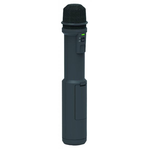 【送料無料】ユニペックス マイク形拡声器 280mm 黒 MDS-100 1台