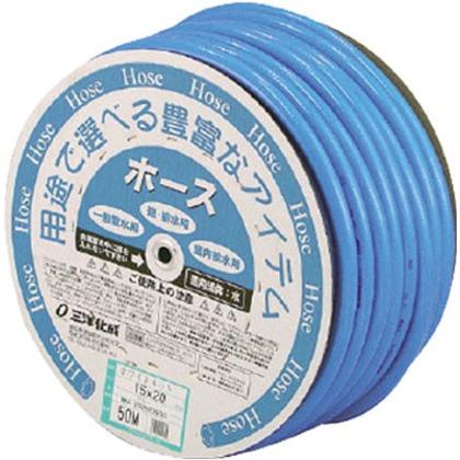 【送料無料】サンヨー ホワイトネットホース15×20ブルー50mドラム巻 420 x 420 x 210 mm WN-1520D50B