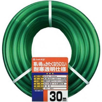 【送料無料】タカギ 耐寒ソフトクリア15X2030M PH20015CD030TM