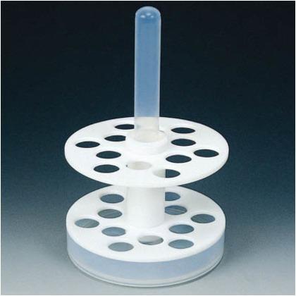 【送料無料】フロンケミカル フッ素樹脂回転式試験管立20φ×8KS−20 NR1271-003