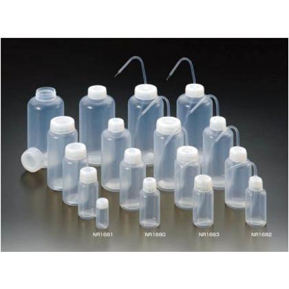 【送料無料】フロンケミカル フッ素樹脂(PFA)細口試薬瓶(中栓ナシ)1000cc NR1680-004