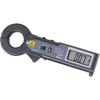 【送料無料】マルチ 交流・直流両用クランプ式電流計 MODEL-230