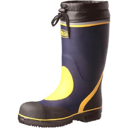 【送料無料】ミドリ安全 防寒用安全長靴777防寒ネイビー29cm 777-NV-29.0
