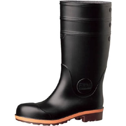 【送料無料】ミドリ安全 小指保護先芯入り安全長靴22.021400062 454 x 344 x 121 mm PW1000-BK-22.0