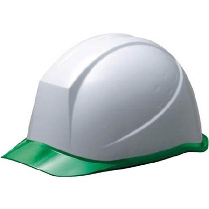 【送料無料】ミドリ安全 αライナーヘルメットSC−11PCLRAαホワイト/グリーン SC-11PCLRA-ALPHA-W/GN
