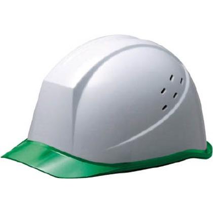 【送料無料】ミドリ安全 αライナーヘルメットSC−11PCLVRAαホワイト/グリーン SC-11PCLVRA-ALPHA-W/GN