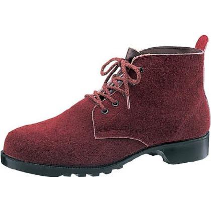 【送料無料】ミドリ安全 熱場作業用安全靴V362茶25cm V362-25.0 0