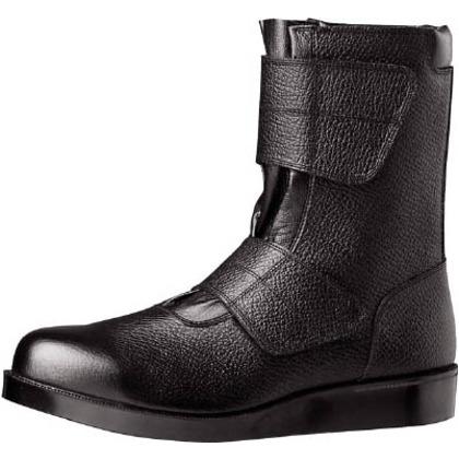 【送料無料】ミドリ安全 舗装工事用安全靴VR235ブラック23.5cm VR235-23.5 0
