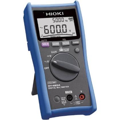 【送料無料】HIOKI デジタルマルチメータ(電圧専用モデル)DT4254 DT4254