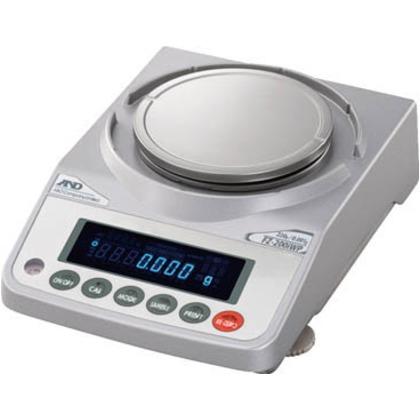 【送料無料】A&D 防塵防滴型分銅内蔵電子天びん検定付 FZ200IWPR