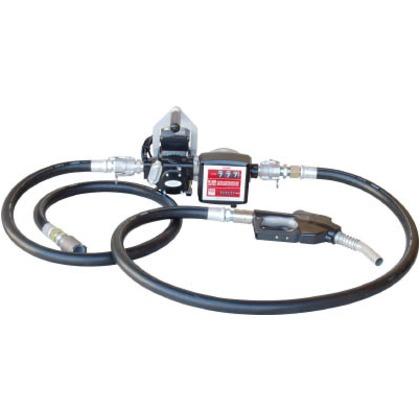【送料無料】アクアシステム オートストップガン・流量計付ホース接続電動ポンプ灯油軽油 480 x 715 x 325 mm K33EVPH-56ATN 0