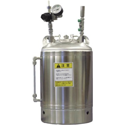 ステン圧送タンクCT-N10LT-SRLゲージ付耐溶剤性