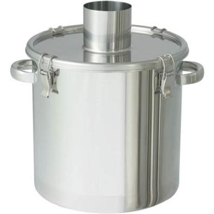 ステンレスタンク粉体回収容器100Aパイプ10L