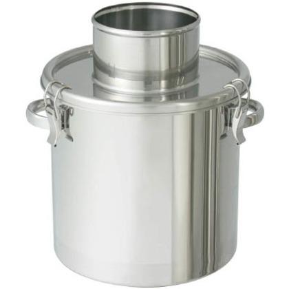 ステンレスタンク粉体回収容器150Aリブ付パイプ15L
