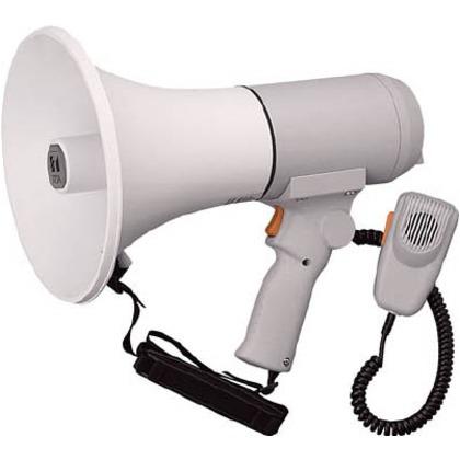 【送料無料】TOA ハンドル付ショルダーメガホン15W ER-3115