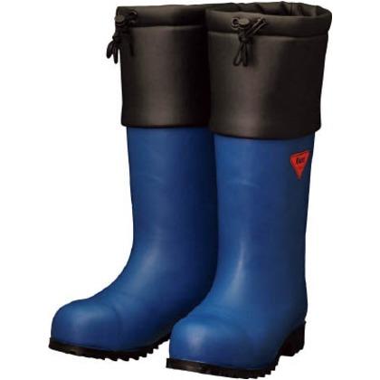 【送料無料】SHIBATA 防寒安全長靴セーフティベアー#1001白熊(ネイビー) 500 x 370 x 110 mm AC051-26.0