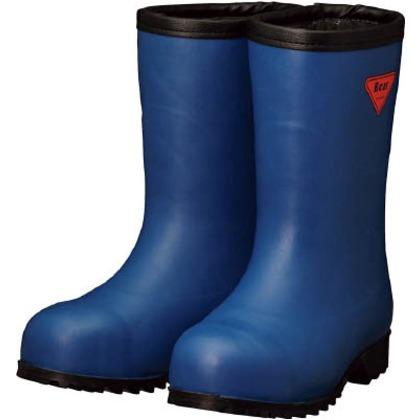 【送料無料】SHIBATA 防寒安全長靴セーフティベアー#1011白熊(ネイビー)フード無し 500 x 370 x 110 mm AC061-24.0