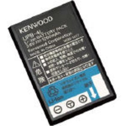 【送料無料】ケンウッド リチウムイオンバッテリー 63 x 45 x 13 mm UPB-4L