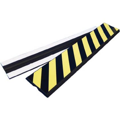 【送料無料】緑十字 コーナーガード-2025 コーナークッション黄/黒(トラ)200×1000×25mm無反射 246020
