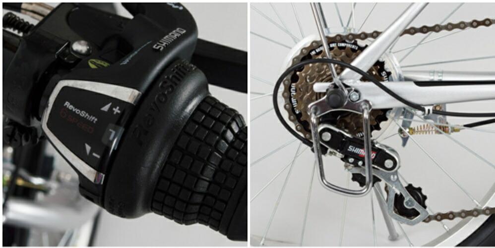 ノーパンク折りたたみ自転車