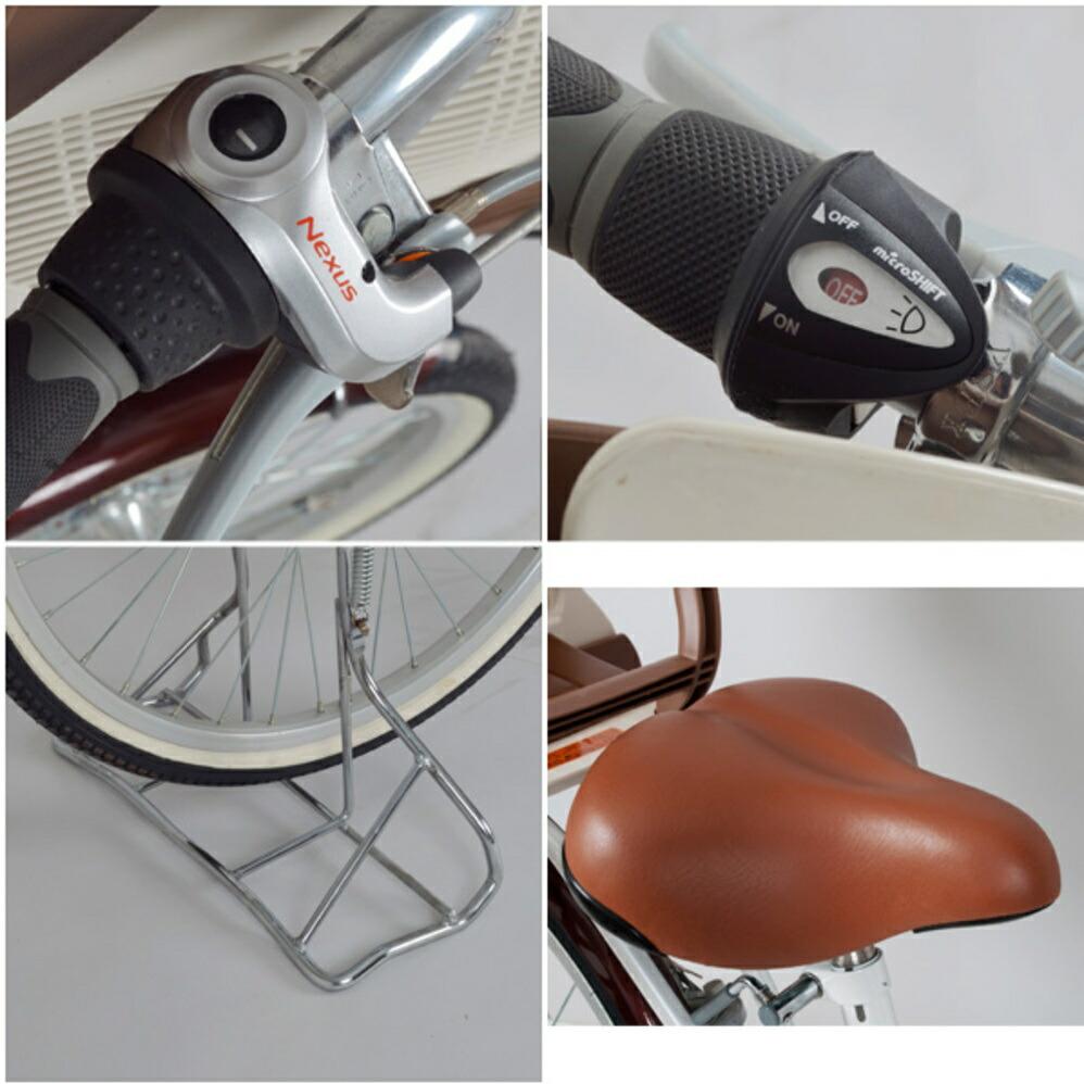 フロントチャイルドシート付三輪自転車