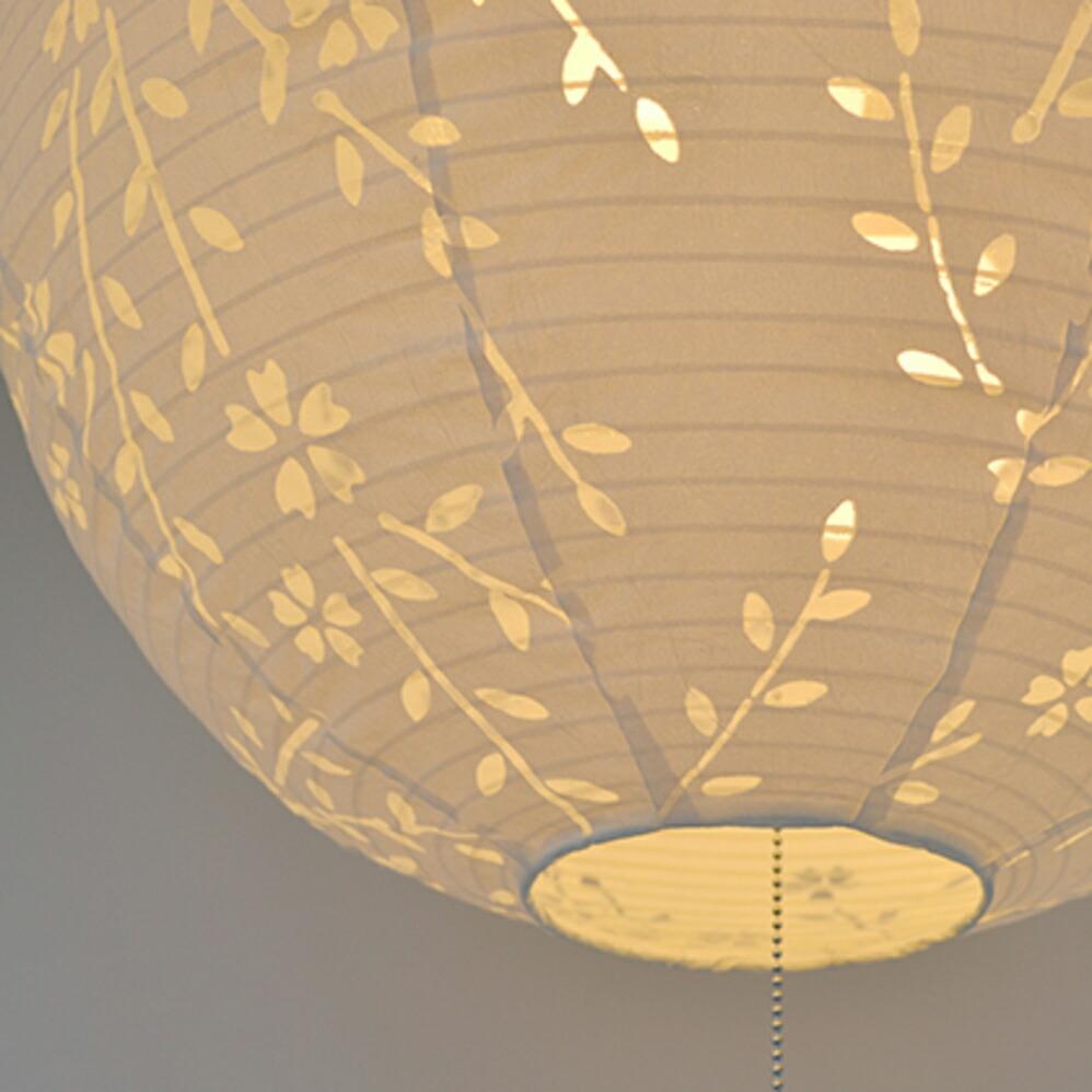 美濃和紙照明3灯ペンダントライト komorebi