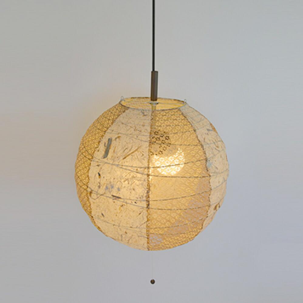 和風照明2灯ペンダントライト