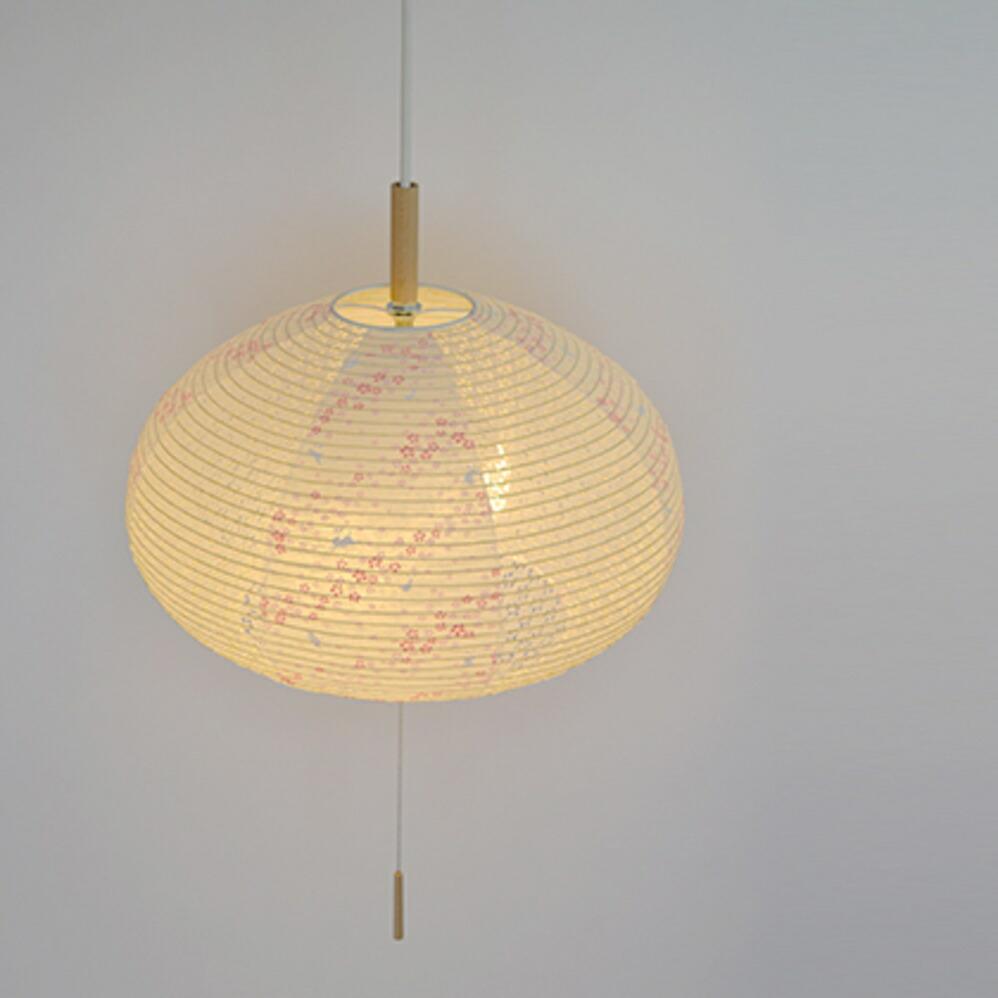 和風照明 2灯ペンダントライト