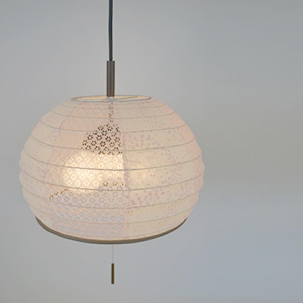和風照明3灯ペンダントライト