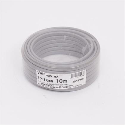 VVFケーブル600Vビニル絶縁ビニルシースケーブル  直径(mm):155.高さ(mm):60 VVF2X1.6M10
