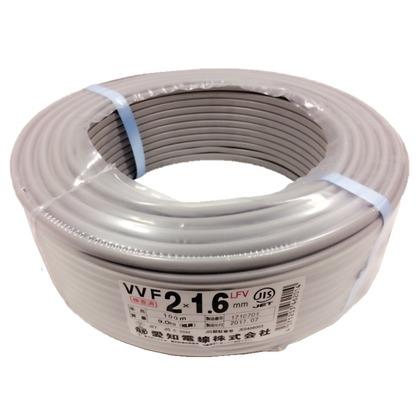 VVFケーブル600Vビニル絶縁ビニルシースケーブル  直径(mm):350.高さ(mm):10 VVF2X1.6M100