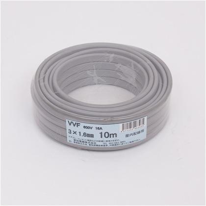 VVFケーブル600Vビニル絶縁ビニルシースケーブル  直径(mm):200.高さ(mm):50 VVF3X1.6M10