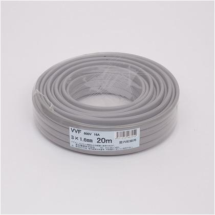 VVFケーブル600Vビニル絶縁ビニルシースケーブル  直径(mm):230.高さ(mm):60 VVF3X1.6M20